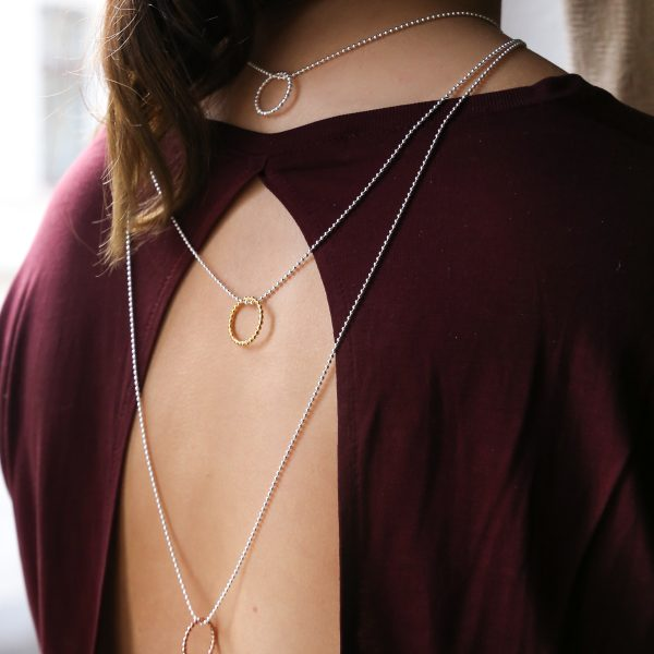 Layerslook Silberkette