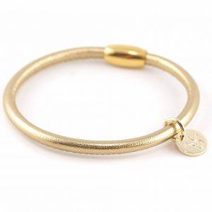 Armband aus Nappaleder vergoldeter MAgnetverschluss