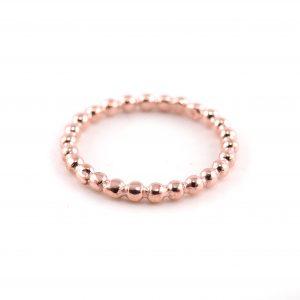 Ring-aus-925er-Silber-Kügelchen-echt-vergoldet