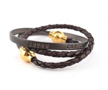 Mixs Kombination GOLD Marta und Mona aus echtem Leder mit Magnetverschluss