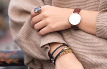 Mix'S lässt sich perfekt zum Outfit kombinieren, auch mit goldenem Magnetverschluss erhältlich