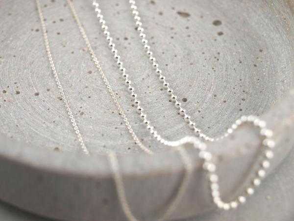 Silberkette verschiedene Modelle und laengen 2