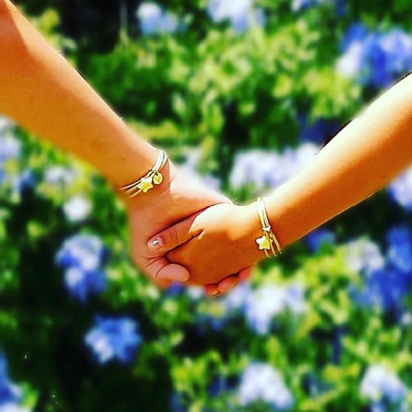 Hand in Hand Kinderarmband Annabel mit Stern