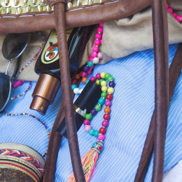 Sommer Trend Strand Hippie Kette Ibiza Style Perlenkette