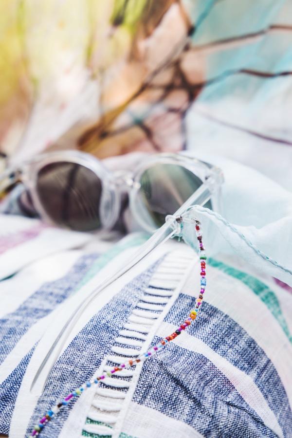 Brillenkette für Sonnenbrille oder Lesebrille