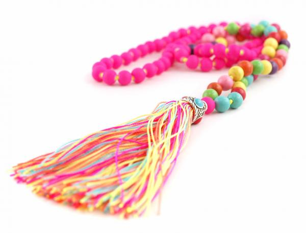 Hippie Kette Ibiza Style Perlenkette