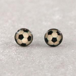Hypoallerger Ohrring Fussball Studex