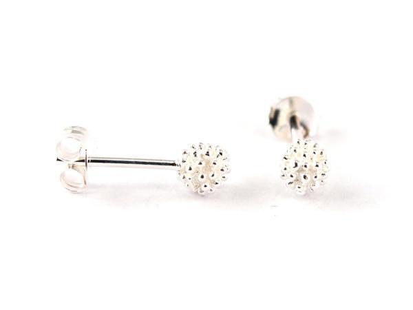 Kuegelchen Ohrring in Silber