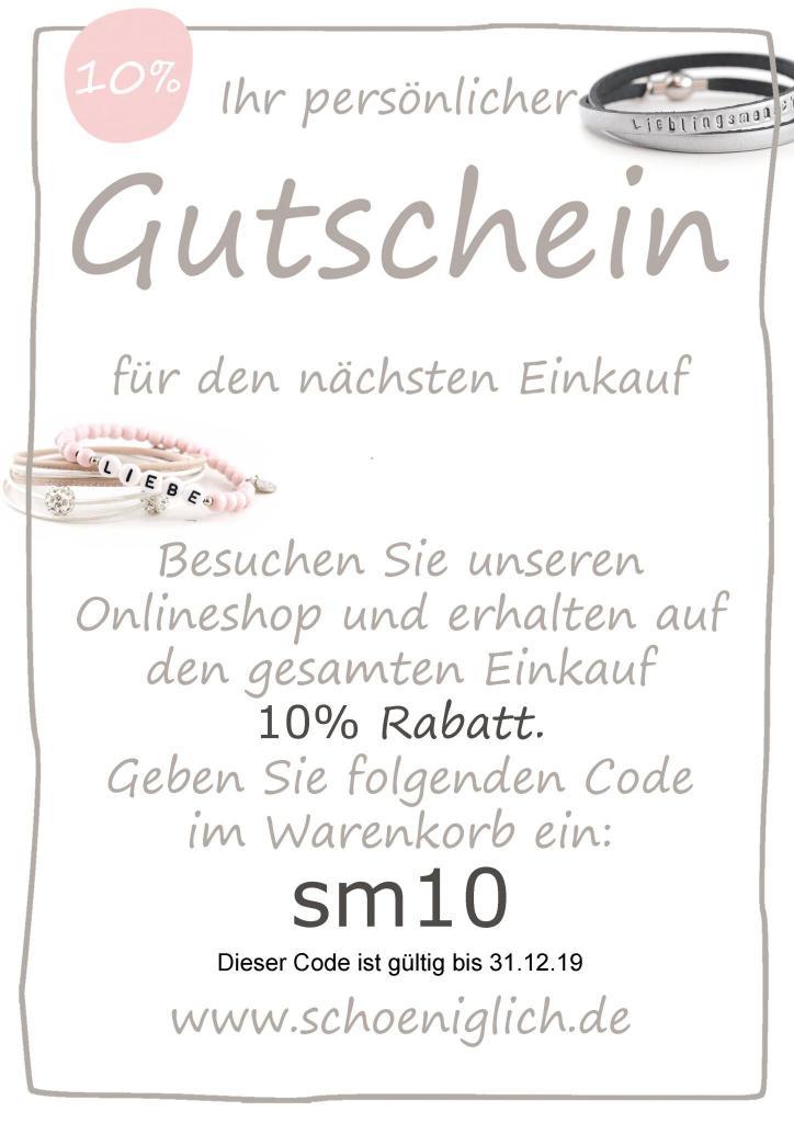 Gutschein Code bis 311219