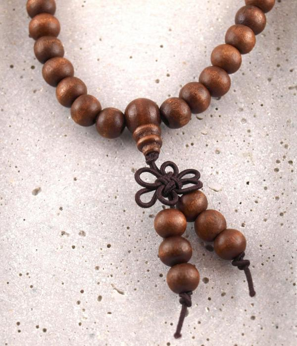 Mala Gebetsketten aus Holz