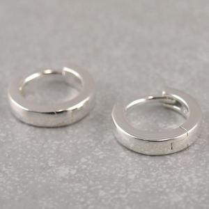Kreole aus 925er Silber klappbar 11 mm ideal fuer Kinderohren 2