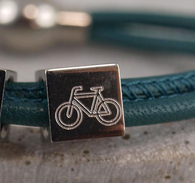 Fahrrad Gravur
