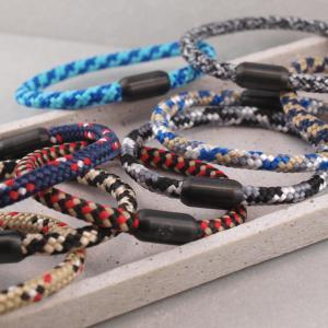 Segeltau Armband mit Gravur Option grosse Farbauswahl die Geschenkidee fuer Ihren Partner