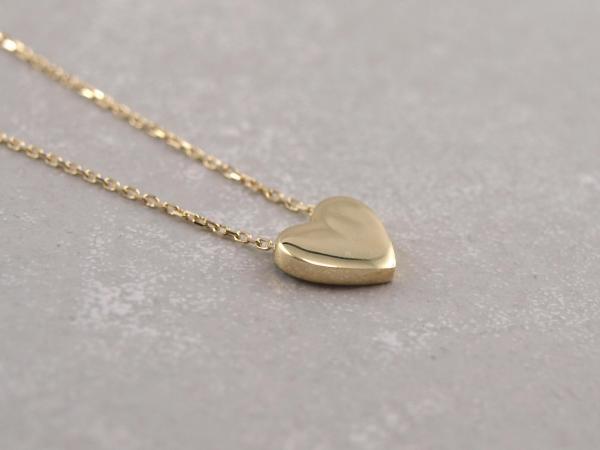 Herz Collier aus 333er Gold Gravierbar