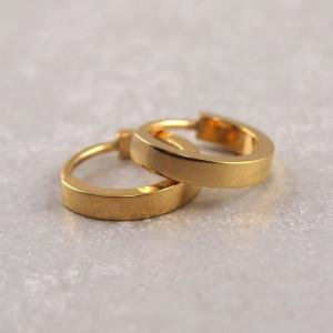Kreole Titan Nickelfrei Allergiker geeignete Ohrringe gold