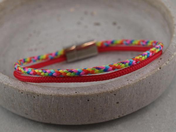 Jona Segeltau-Edition, Gravur auf Magnet moeglich, rot