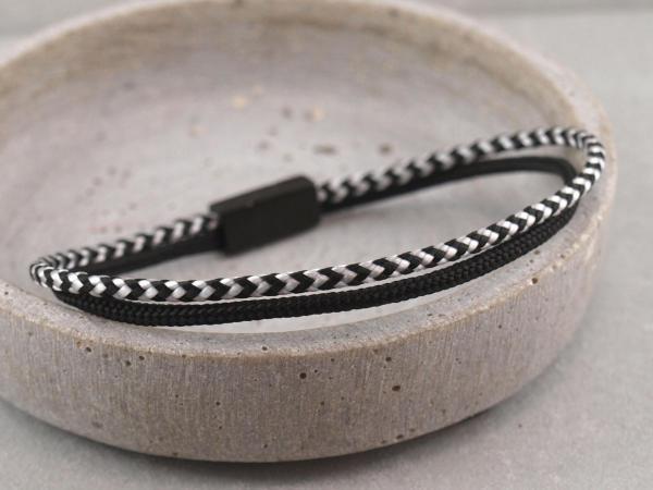 Jona Segeltau-Edition, Gravur auf Magnet moeglich, schwarz